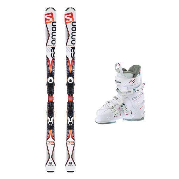 Lot de skis et chaussures Gamme Espoir Enfants Esports Rossell