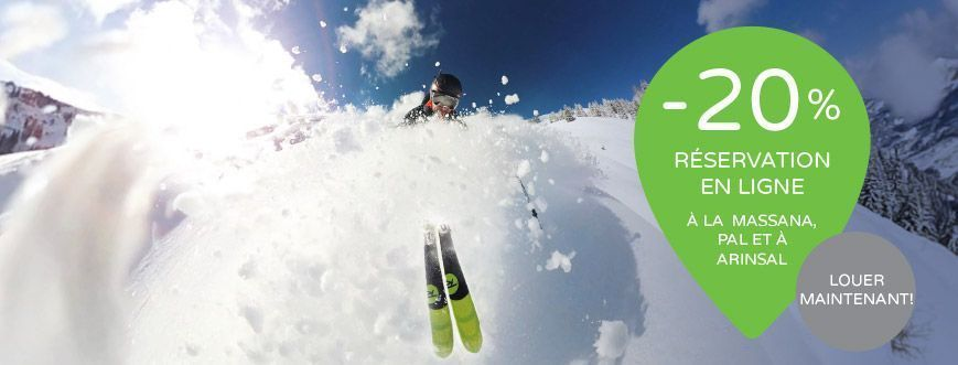 louer skis online