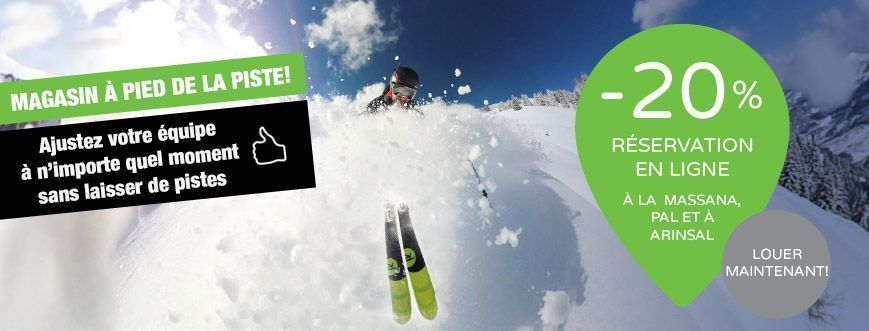 louer ski