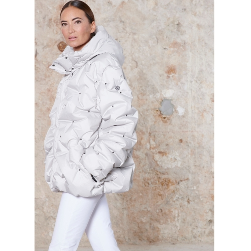poivre blanc OVERSIZED PADDED JACKET