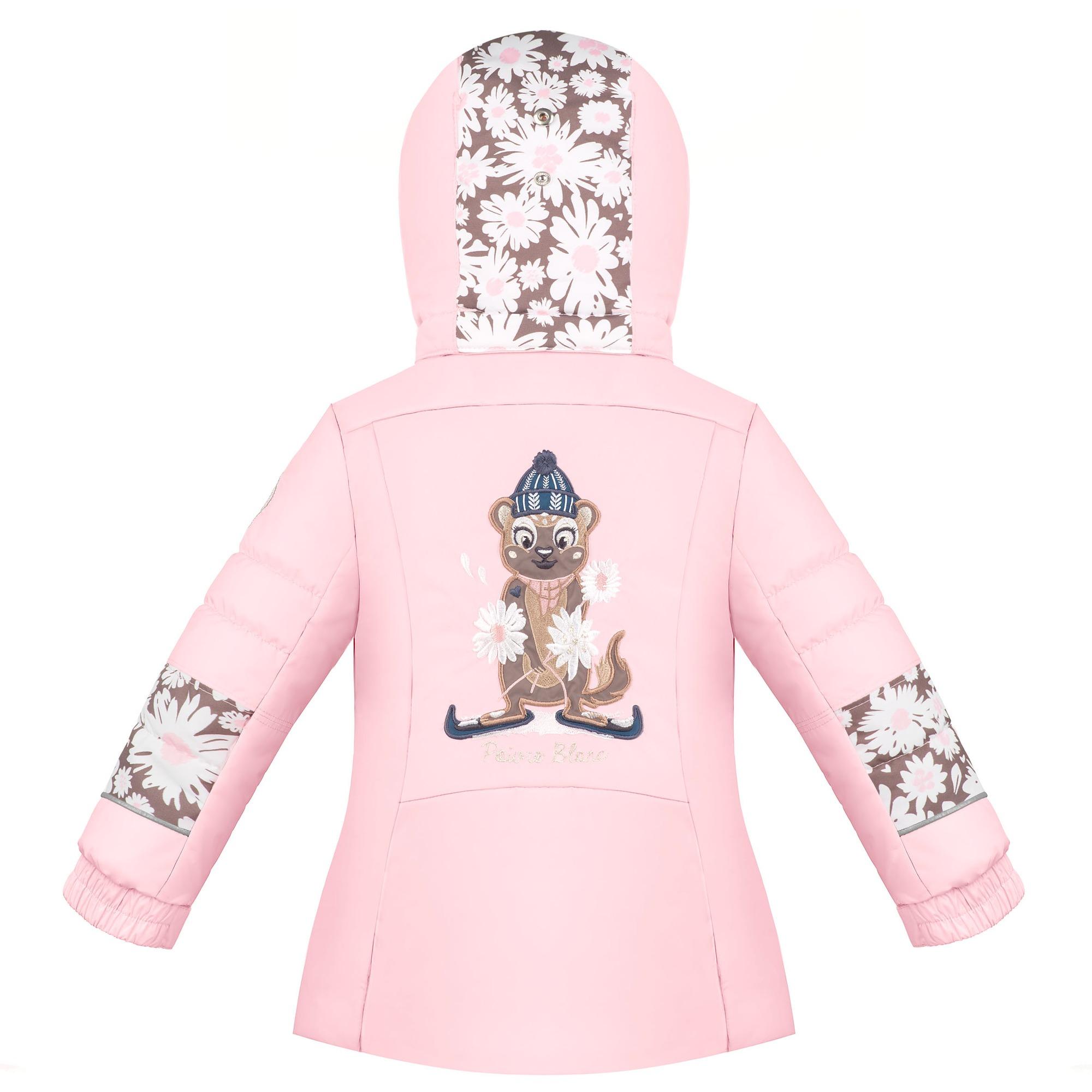 poivre blanc graphic ski jacket