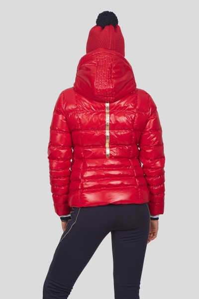 sportalm fitted real down ski jacket