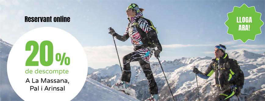 lloguer online esqui vallnord andorra