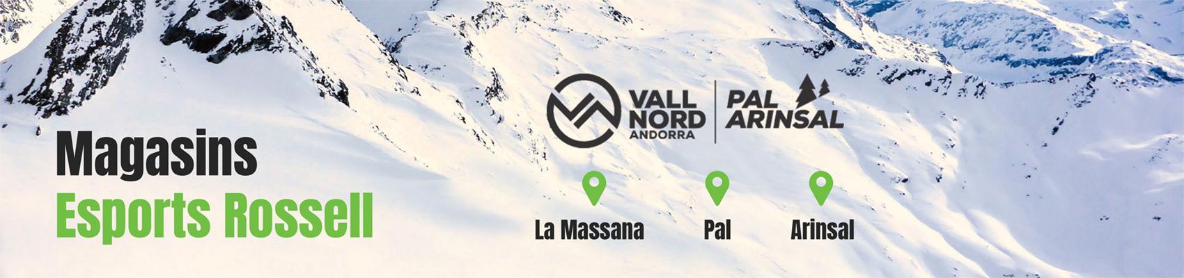 magasins esports rossell ski vallnord andorra